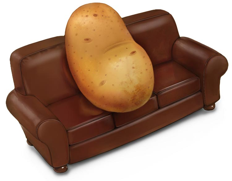 coutch potato